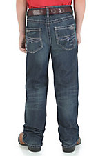 Wrangler Boys' 42 Flint Vintage Boot Relaxed Fit Jean--Sizes 8-16