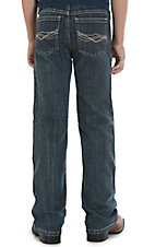 Wrangler 20X Boy's Dark Wash Glascow Slim Boot Cut Jeans 8-16