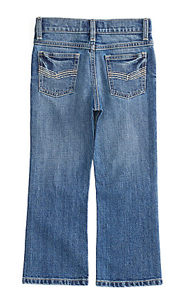 Wrangler 20X Boys' Roxton Medium Wash Slim Fit Vintage Boot Cut Jean (8-16)
