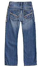 Wrangler 20X Boys' 42 Breaking Barriers Vintage Boot Relaxed Fit Jean--Sizes 1T-7