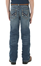 Wrangler 20X Boy's Denim Blue Vintage Boot Cut Jeans
