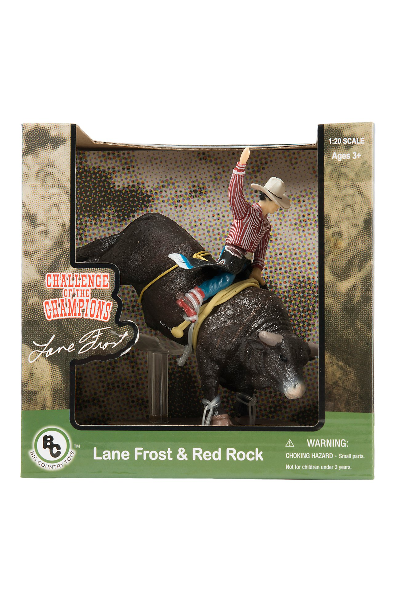 Big Country Toys Lane Frost and Red Rock  4bdbc9a4fe0