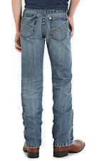 Wrangler 20X Boy's Light Wash 44 Red Bluff Slim Straight Jeans