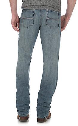 Wrangler 20X Men's Slaton Light Wash Slim Straight Jeans