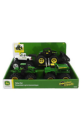 John Deere Monster Treads Value Set