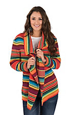 Rock & Roll Cowgirl Women's Serape Sweater/Cardigan
