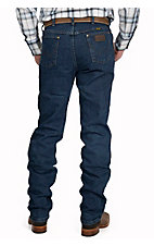 Wrangler Premium Performance Advanced Comfort Cowboy Cut Mid Stonewash Jeans- Regular Fit