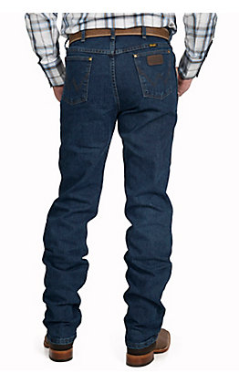 Wrangler Men's Advanced Comfort Cowboy Cut Mid Stone Wash Regular Fit Jean