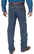 Wrangler Premium Performance Advanced Comfort Cowboy Cut Mid Tint Stonewash Jeans- Regular Fit Extended Sizes
