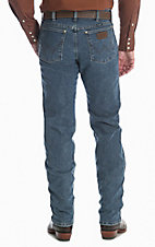 Wrangler Cowboy Cut Men's Advance Comfort Vintage Stone Regular Fit Jeans