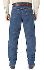 Wrangler Premium Performance Cool Vantage Cowboy Cut Dark Stonewash Jeans- Regular Fit