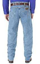 Wrangler Premium Performance Cool Vantage Cowboy Cut Light Stonewash Jeans- Regular Fit