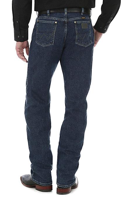 797681f1bc0 Wrangler Premium Edition Men's George Strait Cowboy Cut 47 Jeans