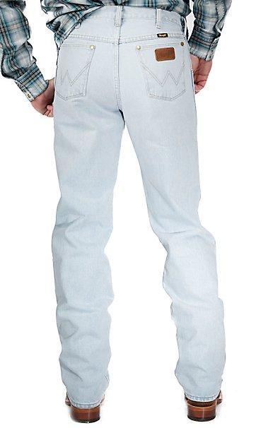 Wrangler Premium Performance Cowboy Cut Bleach Wash Regular Fit ...
