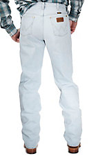 Wrangler Premium Performance Cowboy Cut Bleach Wash Regular Fit Jeans- 38in Inseam