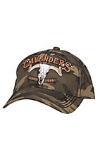 Cavender's Brown Woodlands Camo with 3D Logo Cap