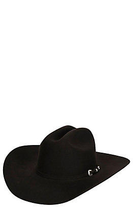 8ba0b147a26f7 Cavender s 4X Chocolate Rodeo Collection Felt Cowboy Hat