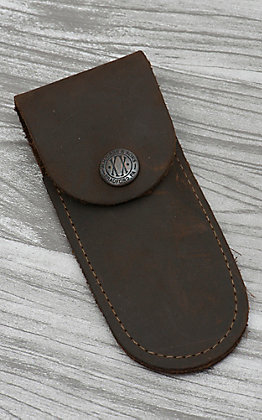 Case Dark Brown Soft Leather Sheath