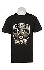 Chris Kyle Men's Black Patriot Logo S/S T-Shirt