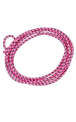 M&F Little Outlaw Roper Youth Pink & Black Rope
