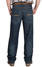 Cinch Men's Medium Wash Garth Brooks Sevens Relaxed Fit Boot Cut Open Pocket Jeans