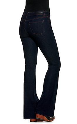 Articles of Society Women's Mr. Faith Dark Wash Flare Leg Jeans