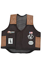 M&F Products Black and Brown Vest