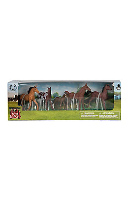 M&F 6 Horse Figure Set