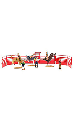 M&F Bigtime Rodeo Bull Rider Rodeo Toy Set