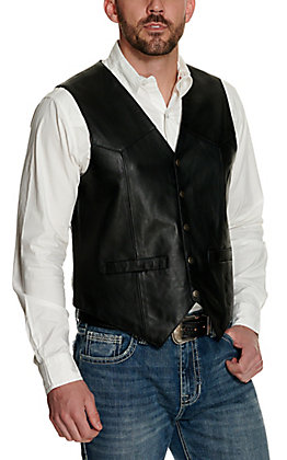 Scully Black Snap Lamb Vest