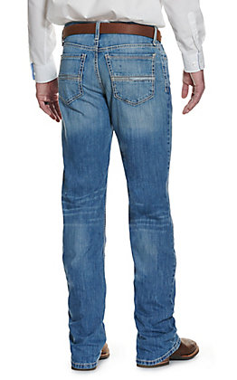 Cinch Men's Grant Light Wash Relaxed Fit Boot Cut Jeans - Cavender's Exclusive