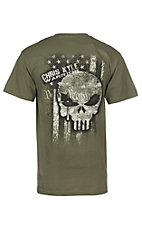 Chris Kyle Men's Olive Ink of Freedom S/S Graphic T-Shirt