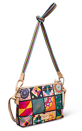 Consuela Allie Patches Crossbody Purse