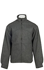 Schaefer Men's Grey Melton Wool Arena Jacket