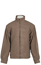 Schaefer Men's Tan Melton Wool Arena Jacket