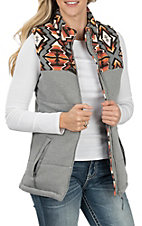 Powder River by Panhandle Women's Grey Aztec