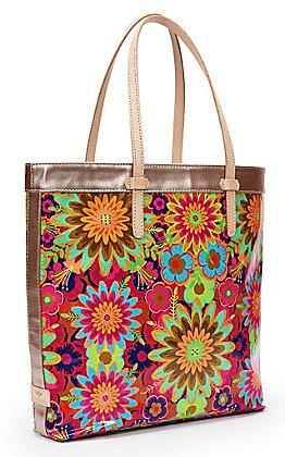 Consuela Trista Floral Print Slim Tote