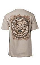 Men's Sand Chris Kyle Frog Foundation T-Shirt