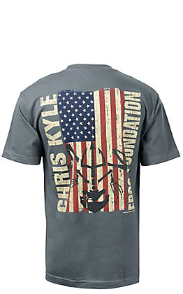 Chris Kyle Frog Foundation Epic Flag Short Sleeve T-Shirt