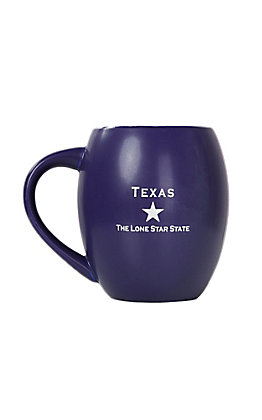 Texas Products Navy Davy Crockett Mug