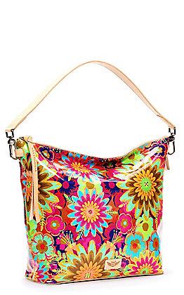Consuela Trista Multi Floral Print Hobo Bag