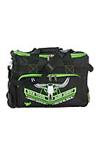 Cowboy Hardware Black and Lime Green 18 Inch Gear Bag