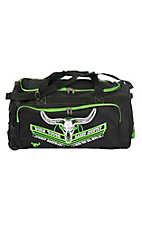Cowboy Hardware Black and Lime Green 26 Inch Gear Bag