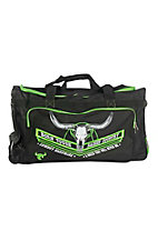 Cowboy Hardware Black and Lime Green 30 Inch Gear Bag