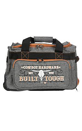Cowboy Hardware Grey and Orange 18 Inch Gear Bag