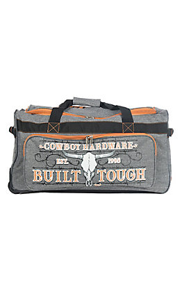 Cowboy Hardware Grey and Orange 26 Inch Gear Bag