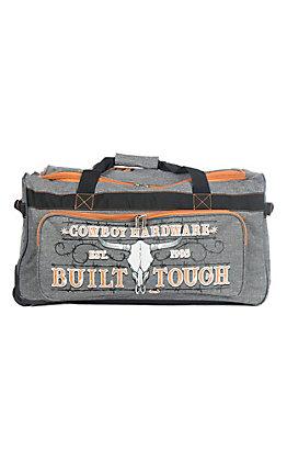 Cowboy Hardware Grey and Orange 26 Inch Gear Bag