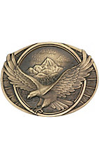 Montana Silversmiths Soaring Eagle Cast Buckle 60791C