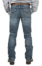 Cinch Men's Medium Wash Slim Fit Open Pocket Boot Cut Jeans