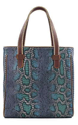 Consuela Marfa Rattler Python Snake Classic Tote